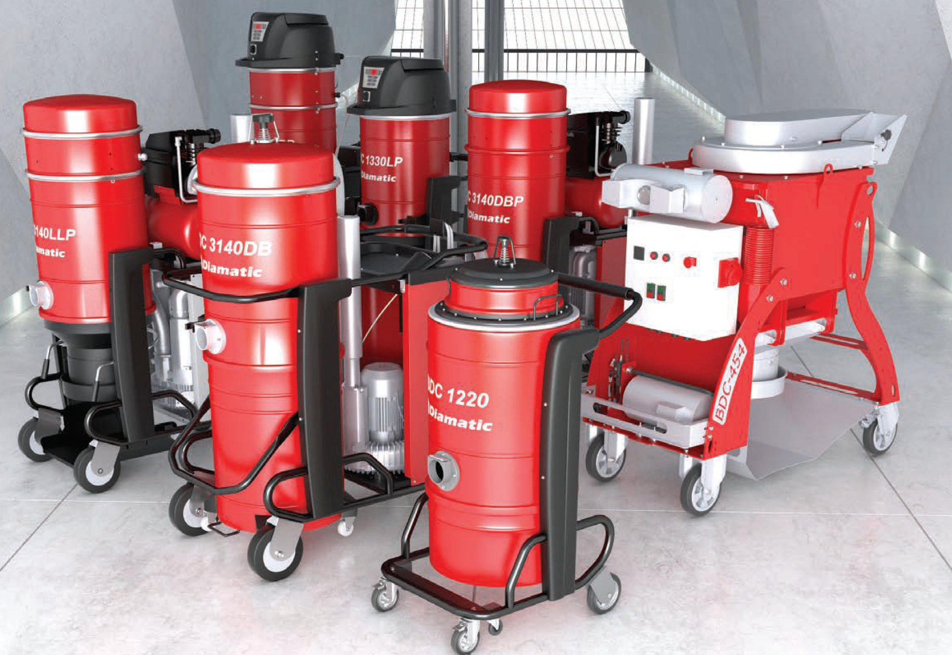 Diamatic Dust Collectors